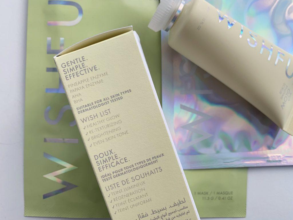 Wishful Skin Yo Glow Enzyme Scrub