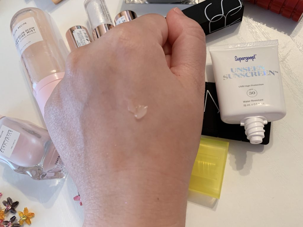 Supergoop unseen sunscreen krema za lice