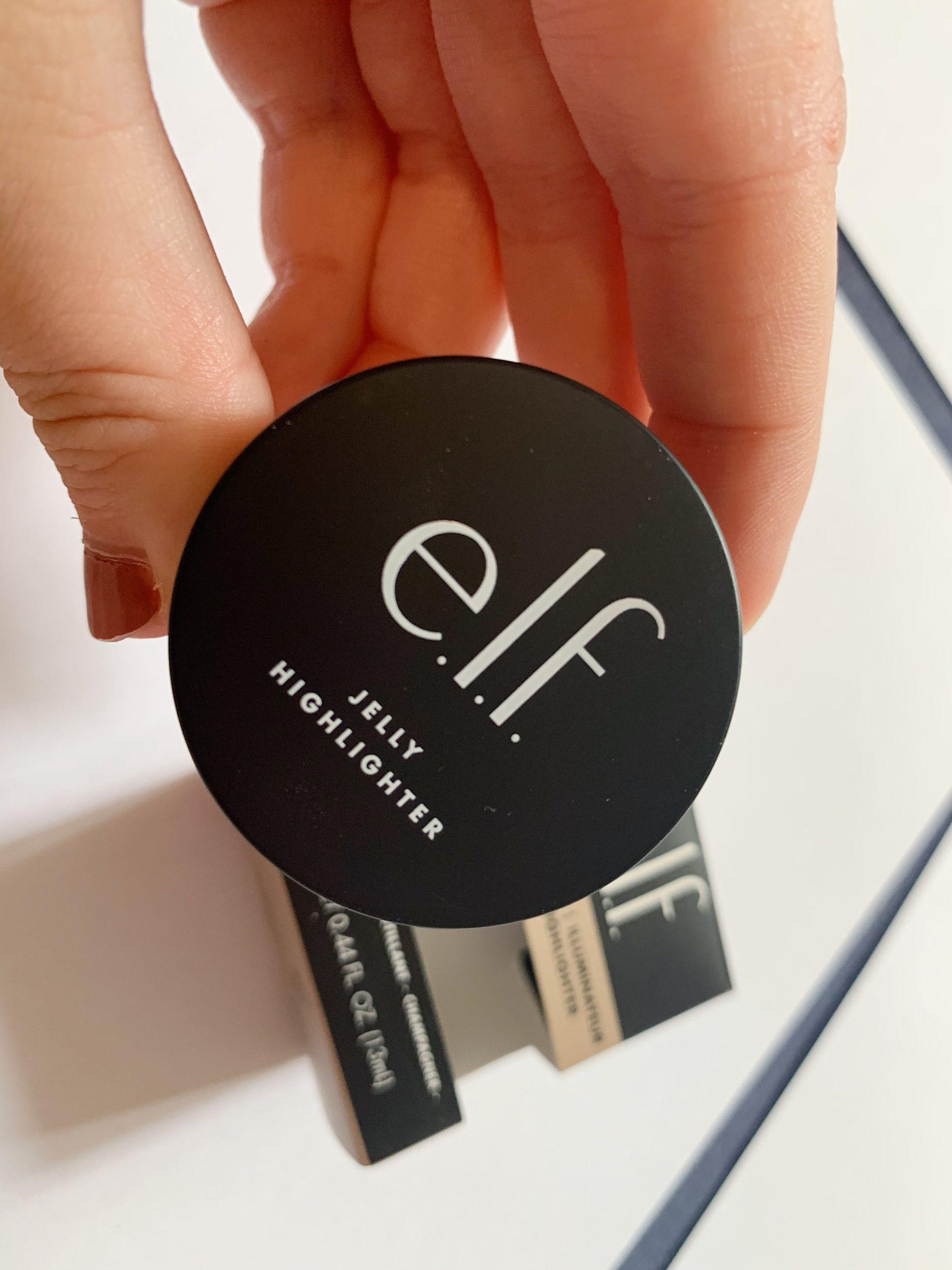 ELF Cosmetics jelly highlighter
