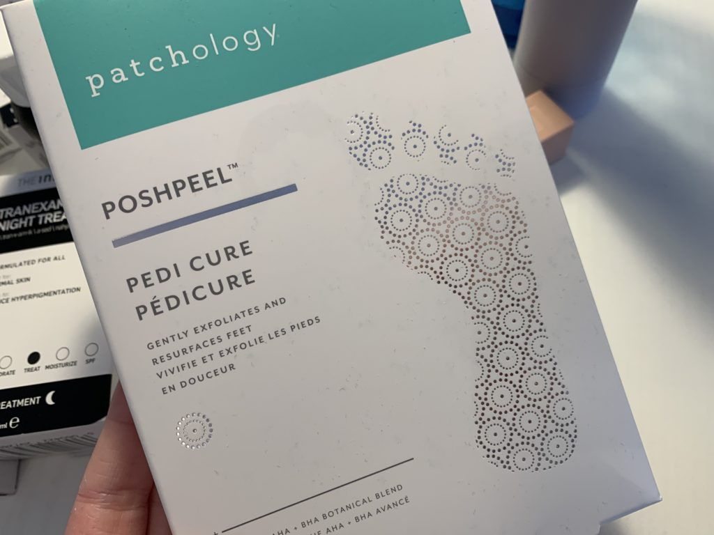 Patchology PoshPeel PediCure maska za stopala